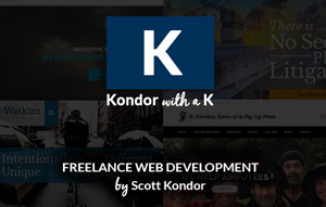 Web Development by Scott Kondor