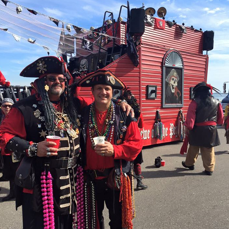 2016 Gasparilla Day Parade