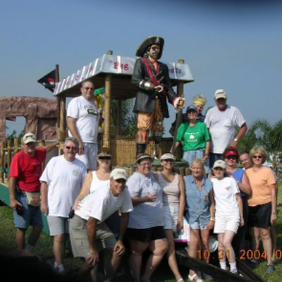 2004 Float Construction