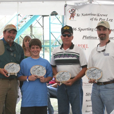 "2006 ""Get on The Good Foot"" Annual Sporting Clay Tournament"