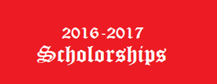 2016 – 17 Scholorships