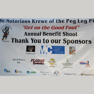"2018 ""Get on The Good Foot"" Annual Sporting Clay Tournament"